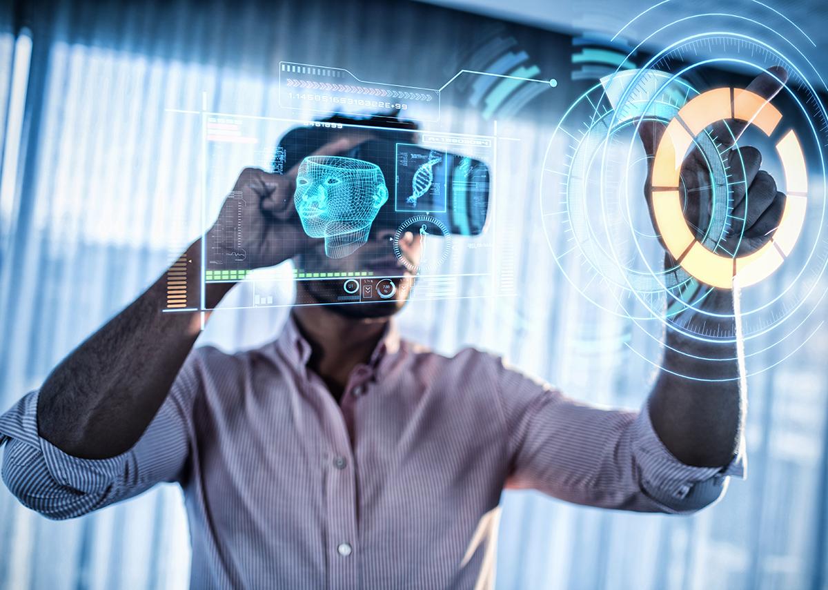 Virtual Showroom, Augmented, Mixed & Extended Reality - Bild: vectorfusionart|Shuttestock.com
