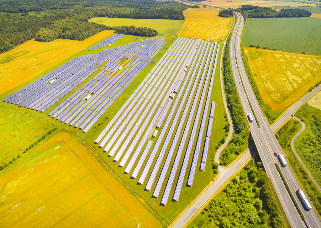 Photovoltaik Freilandanlage beraten