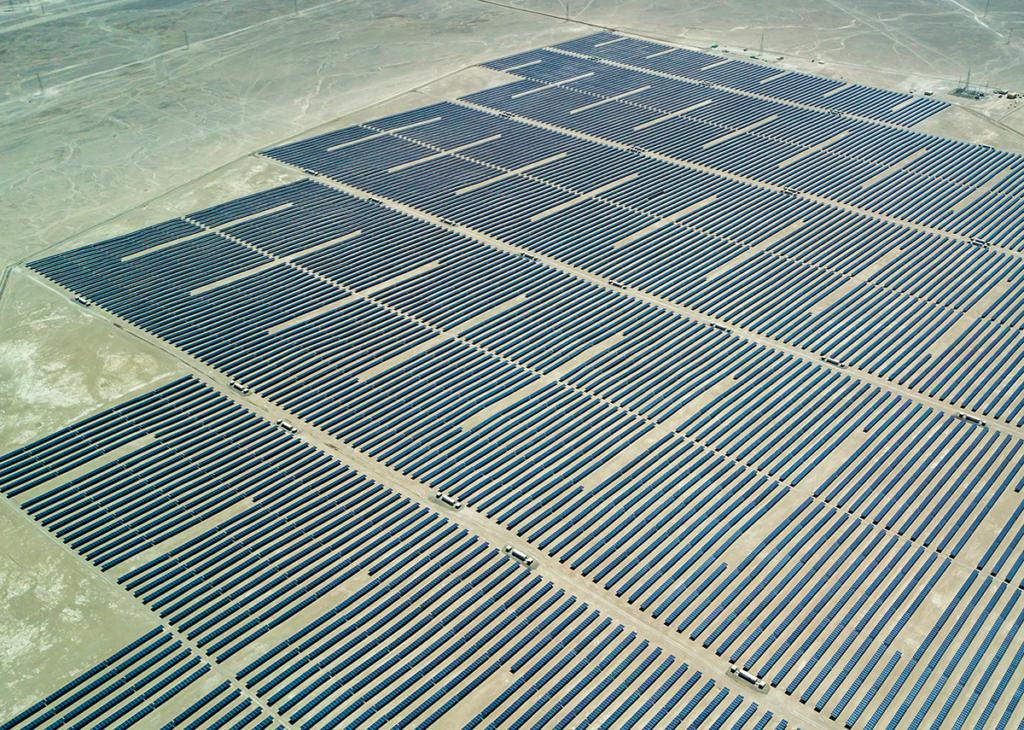 Solar Freilandanlage