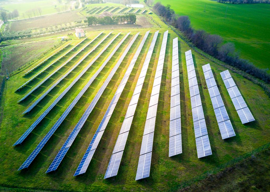 Photovoltaik Freilandanlage bauen