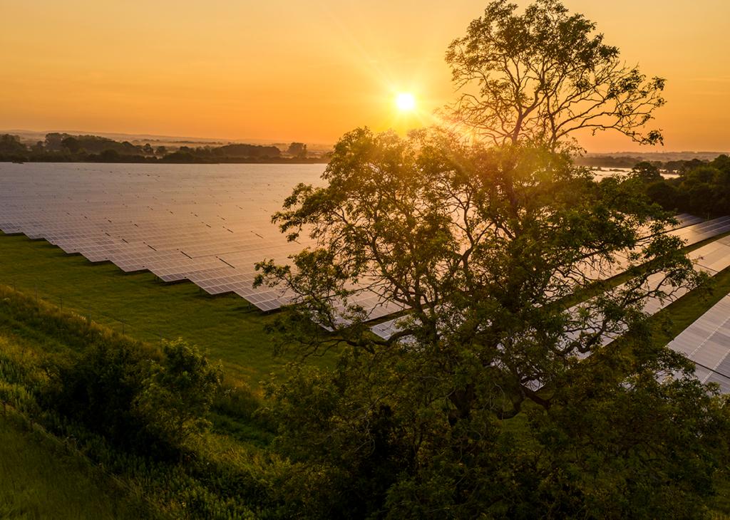 Solar Freilandanlage Planung
