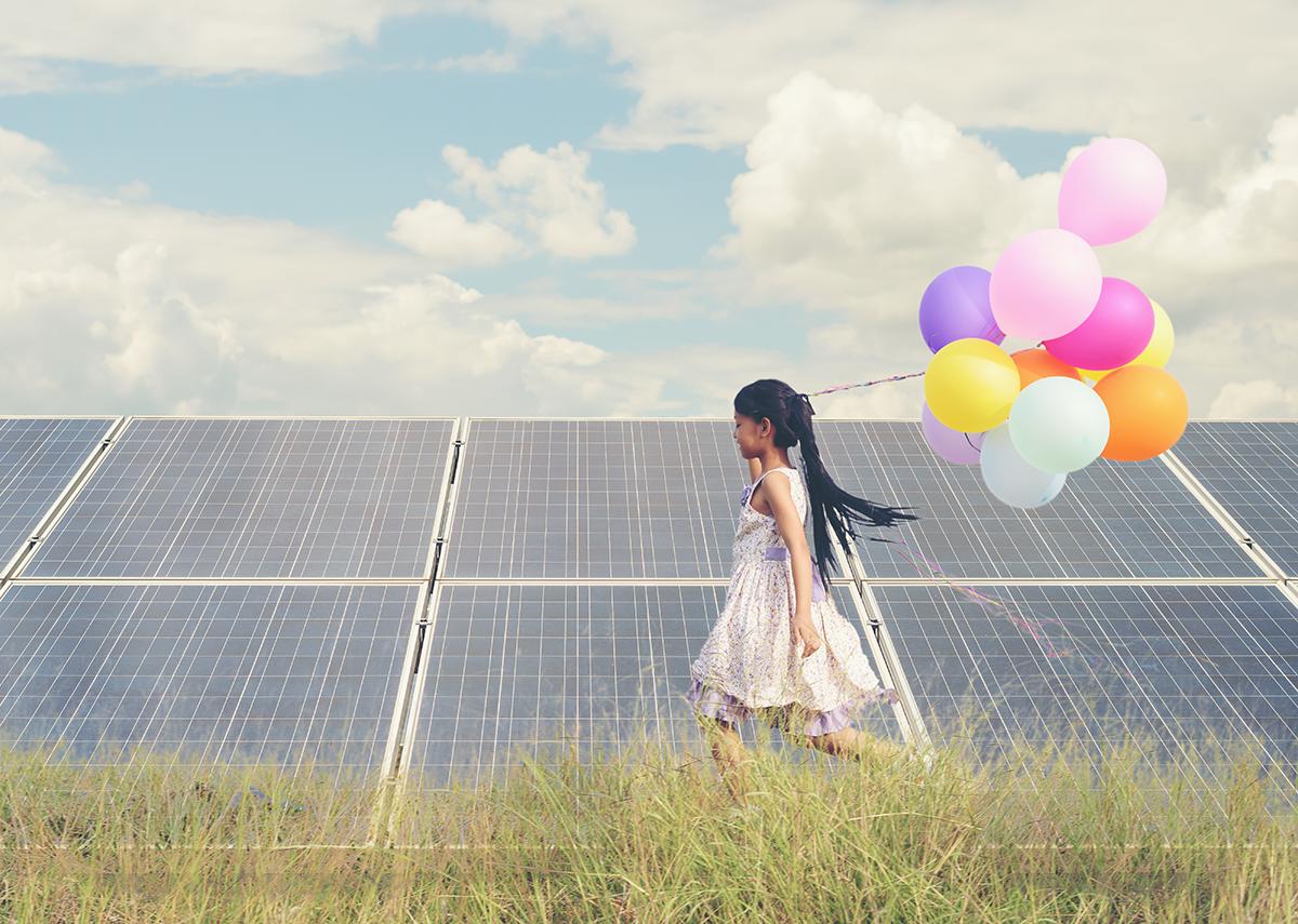 Solar / Photovoltaik Freilandanlagen Beispiele