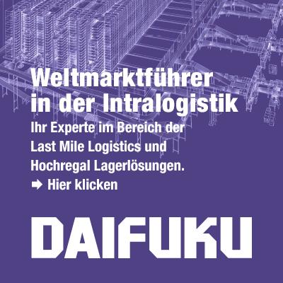 Daifuku Lagerlösungen - Last Mile Logistics - Hochregallager