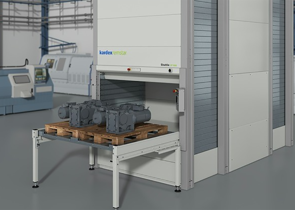 Palettenlager: Flexible Lagerung schwerer Lasten