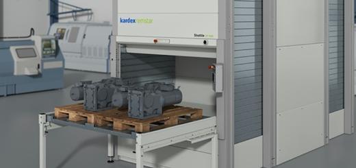 Palettenlager: Flexible Lagerung schwerer Lasten - Bild: Kardex