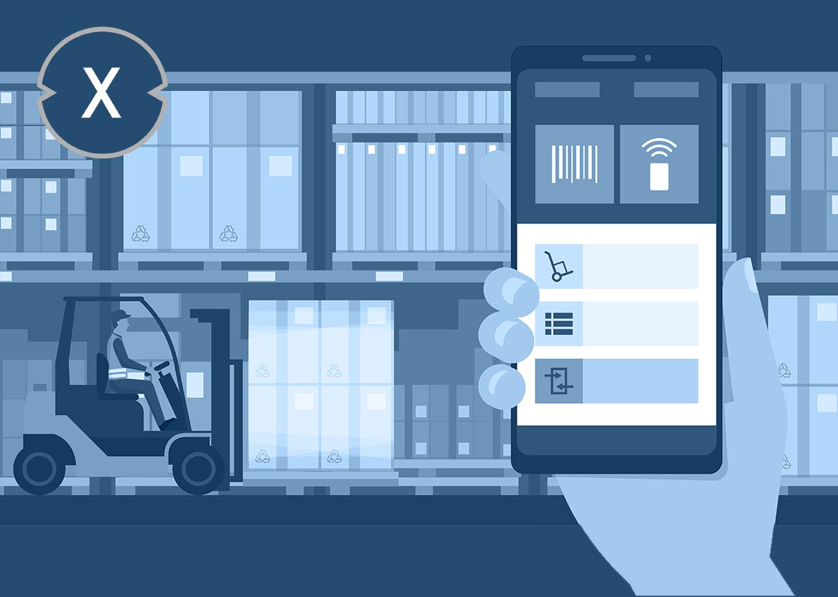 Smart Logistics - Mit smarter Logistik schneller am Ziel - Bild: Xpert.Digital & elenabsl|Shutterstock.com