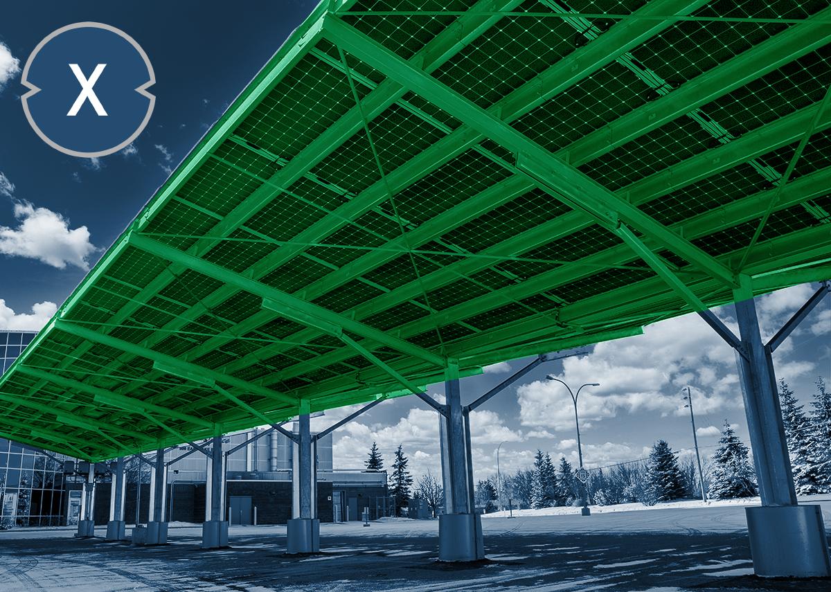 Solarcarports für NRW - Xpert.Digital / Ramon Cliff|Shutterstock.com