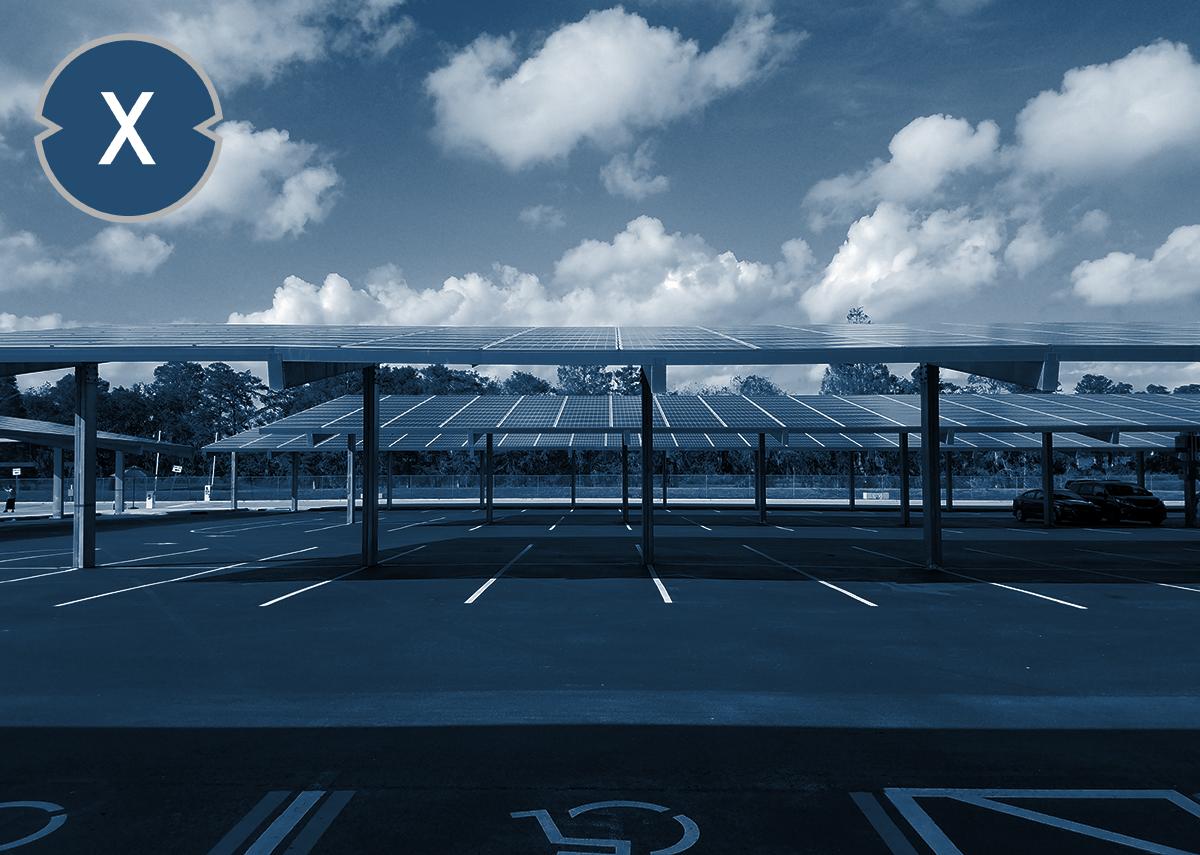 Solarcarport Nachfrage steigt - Bild: Xpert.Digital - stockphotofan1|Shutterstock.com