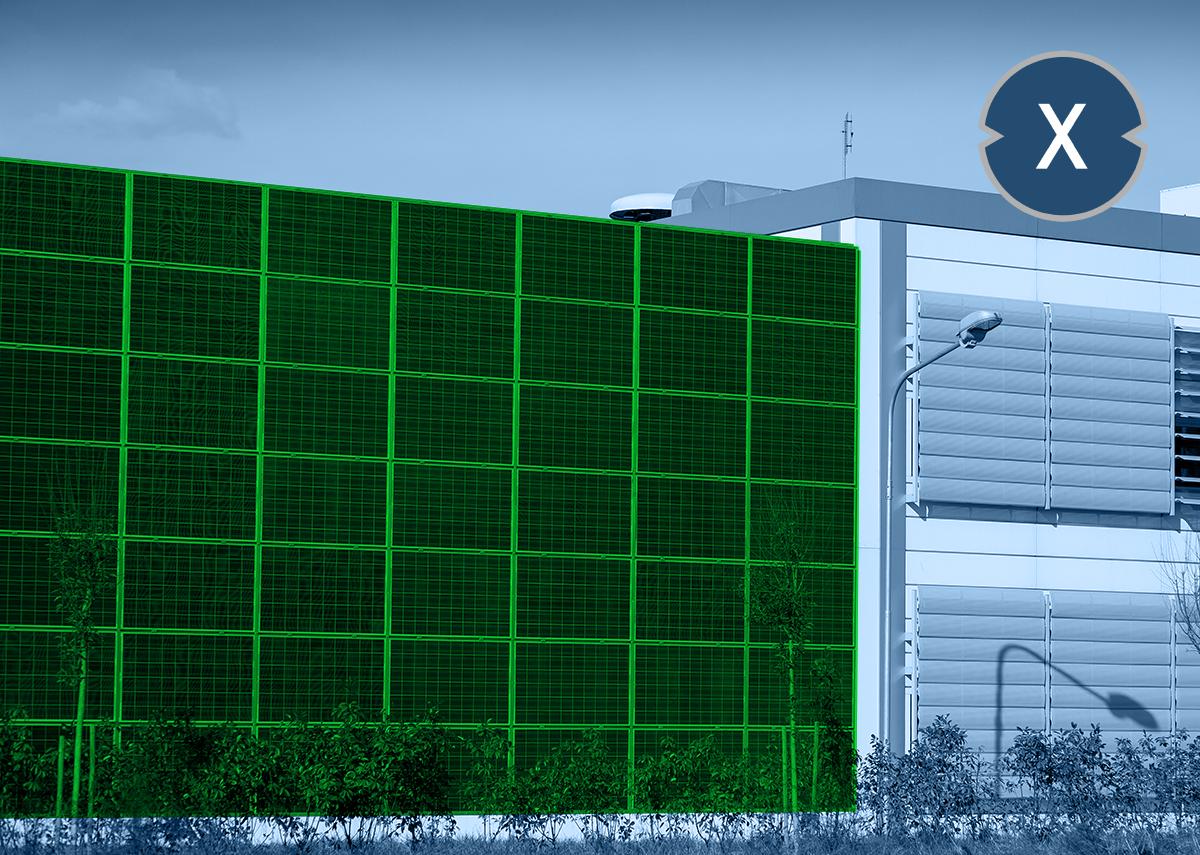 Solarfassade - Solar-Fassaden-Lösung für PV-Module und Montagesysteme - Bild: Xpert.Digital - marco mayer Shutterstock.com