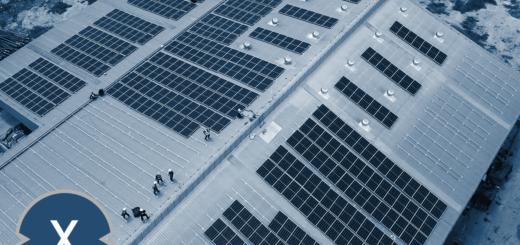 Flachdach-Solaranlagen für Unternehmen