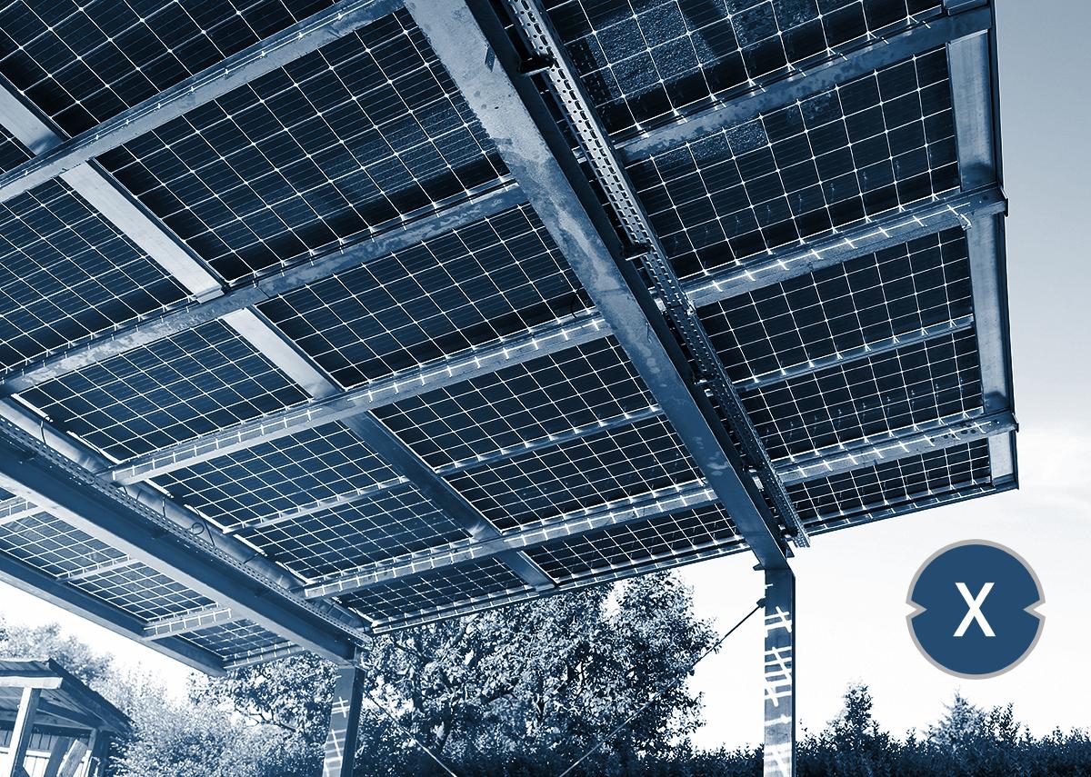 Zulassung für Solarcarport Überkopfmontage mit transparenten Doppelglas-Solarmodulen