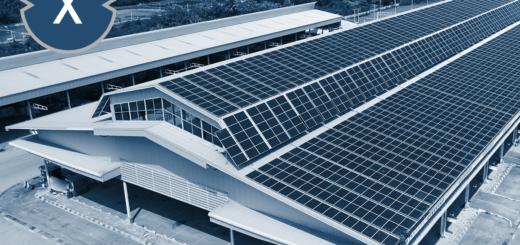 Solaranlage für das Hallendach