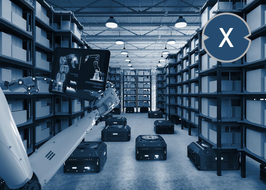 Smart Storage: Warehouse Robots - Logistik Roboter in der Fabrik bzw. im Lager