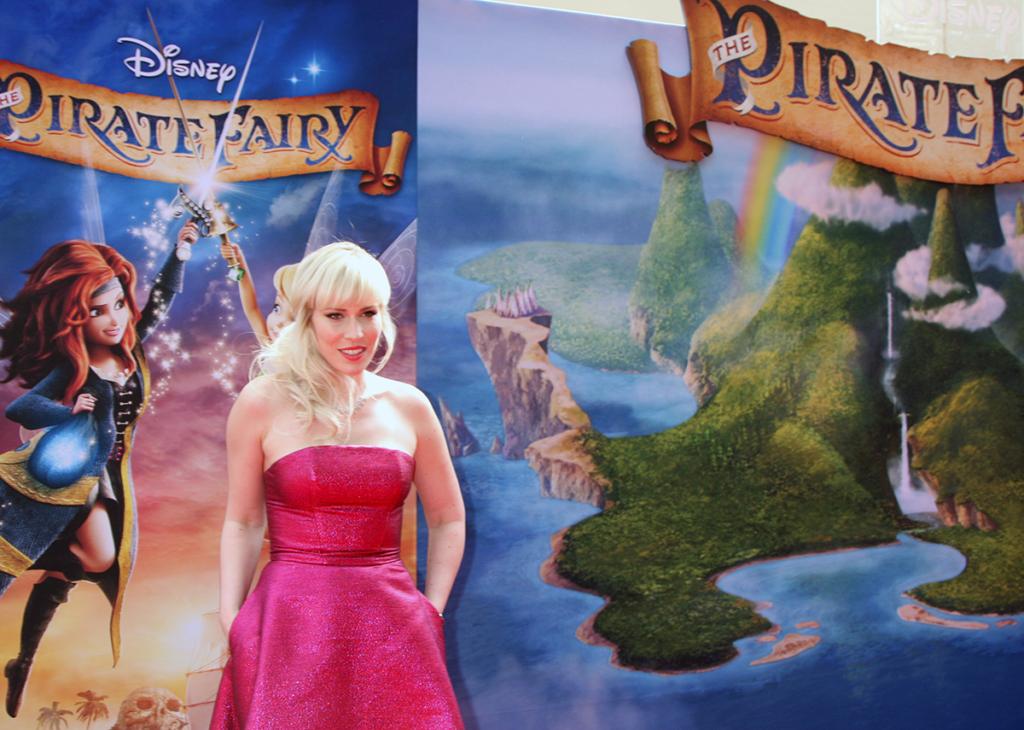 Natasha Bedingfield bei der Filmpremiere von Pirate Fairy in den Walt Disney Studios
