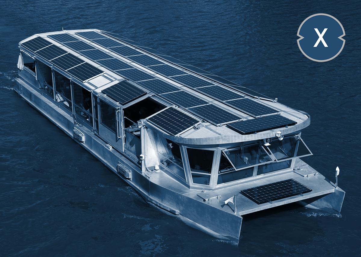 Das Solarschiff bzw. Solarboot - Möglicher Einsatz von transparenten Solarglas Modulen