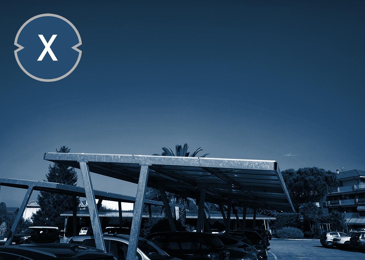 Solarcarports erzeugen Strom und schützen Parkflächen